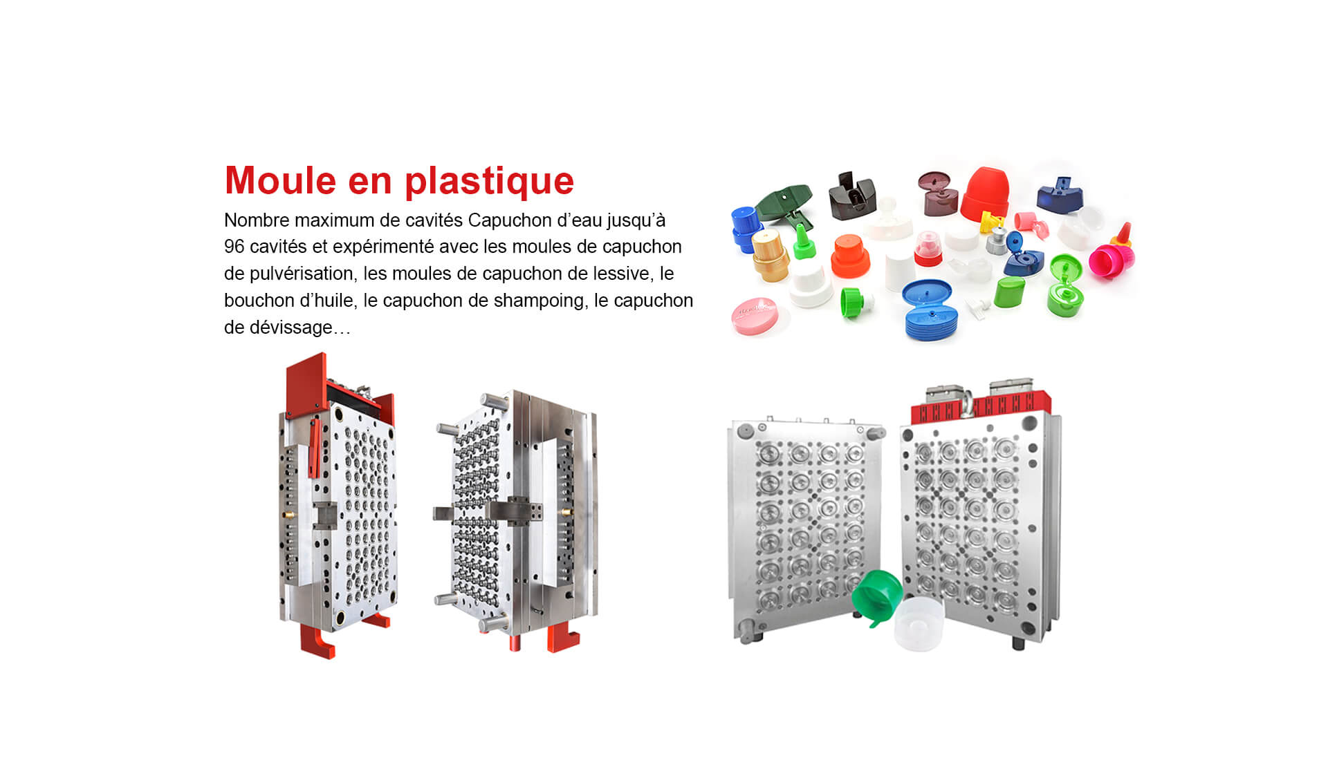 Plastic Mould for Cap